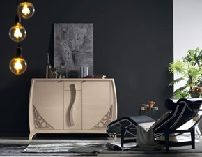Madia Artigianale in legno Credenza glamour bar  in Offerta Outlet