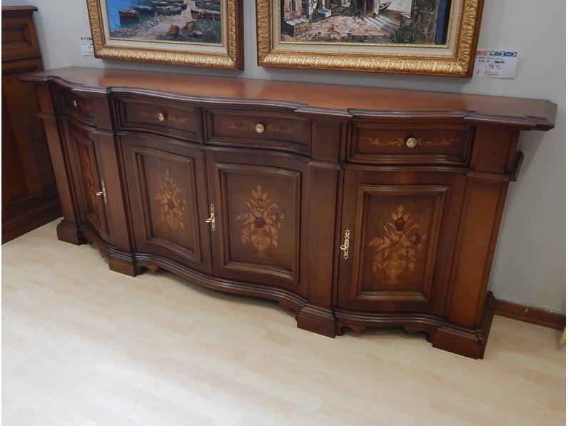 Madia artigianale in legno piemontese a prezzo scontato for Fornasari arredamenti