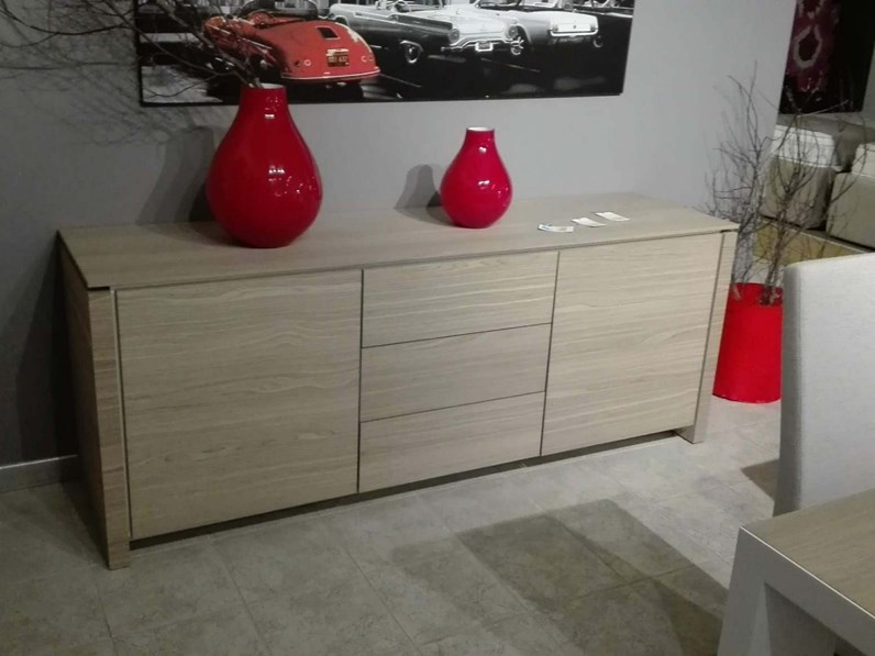 Madia calligaris in legno mag wood in offerta outlet for Gili arredamenti