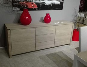 Madia Calligaris in legno Mag wood in Offerta Outlet