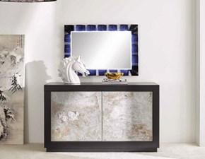 Madia Credenza con ante effetto marmorizzato scontata del 55% Artigianale in legno in Offerta Outlet