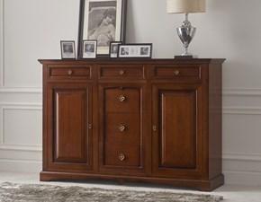 Madia Credenza in legno mottes mobili Artigianale in legno in Offerta Outlet
