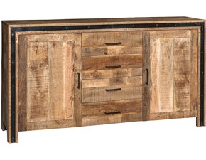 Madia Credenza industrial trocadero in offerta   Outlet etnico OFFERTA OUTLET
