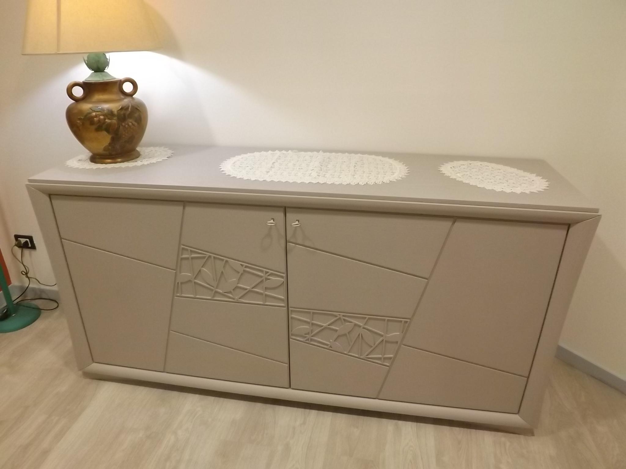 Soggiorno modo10 decor legno madie design soggiorni a for Madie di design