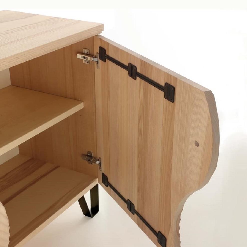 Madia design in legno la seggiola soggiorni a prezzi - Soggiorni in legno ...