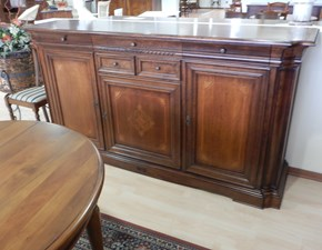 Madia E601 Artigianale in legno a prezzo Outlet