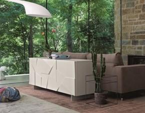 Madia in laccato opaco stile design * concrete Dall'agnese