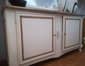 Madia in legno stile classico Fiocco  Bamax