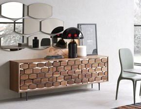 Madia in legno stile design Tonin casa honey Tonin casa