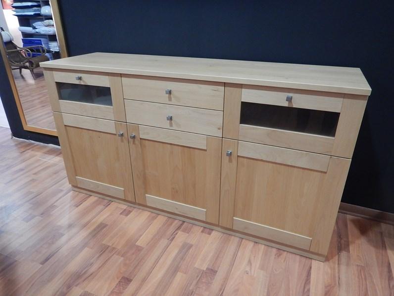 Madia in legno stile moderno eko m artigianale for Fornasari arredamenti