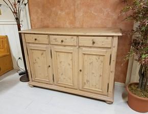 Madia in stile classico Zanotto in legno Offerta Outlet