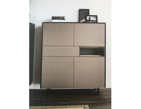 Madia in stile design Fimar in laccato opaco Offerta Outlet