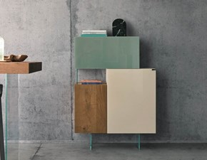 Madia in stile design Lago in legno Offerta Outlet