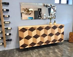 Madia in stile design Morelato in legno Offerta Outlet