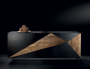 Madia in stile design Nature design in legno Offerta Outlet