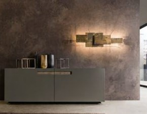 Madia in stile design Presotto italia in laccato opaco Offerta Outlet