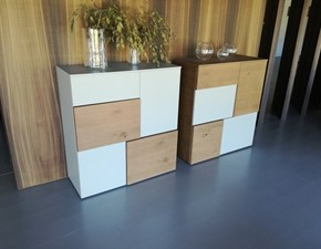 Madia in stile design Sangiacomo in legno Offerta Outlet