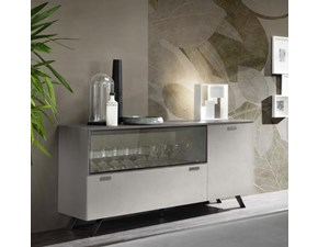 Madia in stile moderno Artigianale in laccato opaco Offerta Outlet