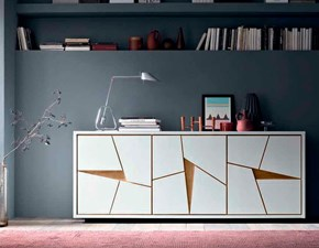 Madia in stile moderno Fgf in legno Offerta Outlet