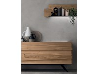 Madia in stile moderno Maronese in legno Offerta Outlet
