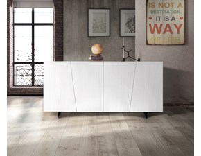 Madia in stile moderno Mottes selection in legno Offerta Outlet