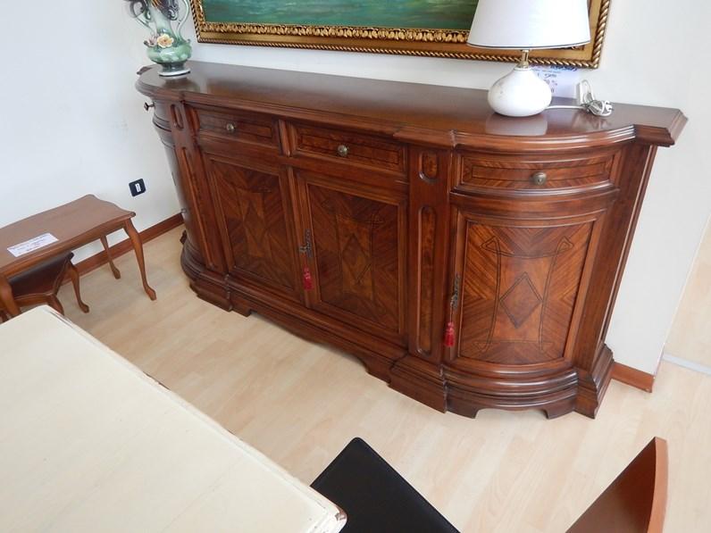 Madia intarsio b artigianale in stile classico a prezzo for Fornasari arredamenti