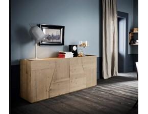 Madia Legno Massello di abete Alta corte in stile design Offerta a prezzi Outlet