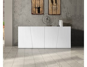 Madia Madia a 4 ante in abete bianco spazzolato Mottes selection OFFERTA OUTLET