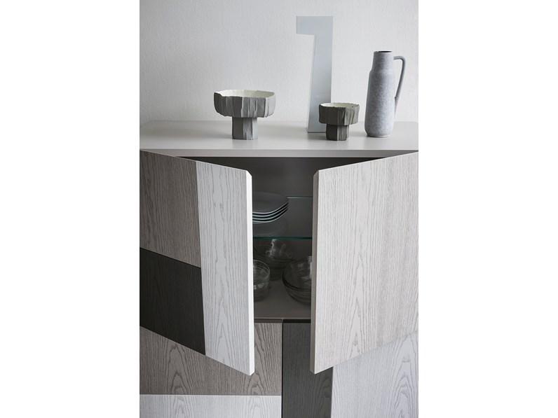Madia in legno moderna. stunning madia moderna ante idea with madia