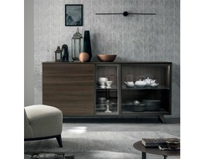 Madia Metropolis Tomasella in laminato materico in Offerta Outlet
