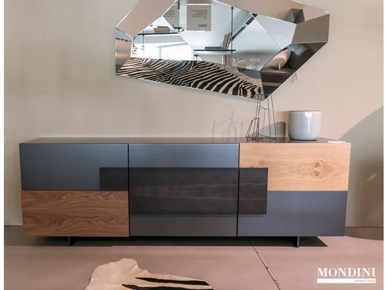 Credenza moderna modello torino di cattelan italia for Outlet del mobile torino