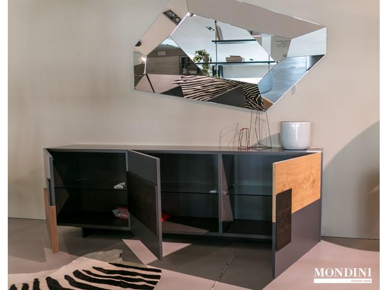 Credenza Moderna Torino : Credenza moderna modello torino di cattelan italia scontata del 20%