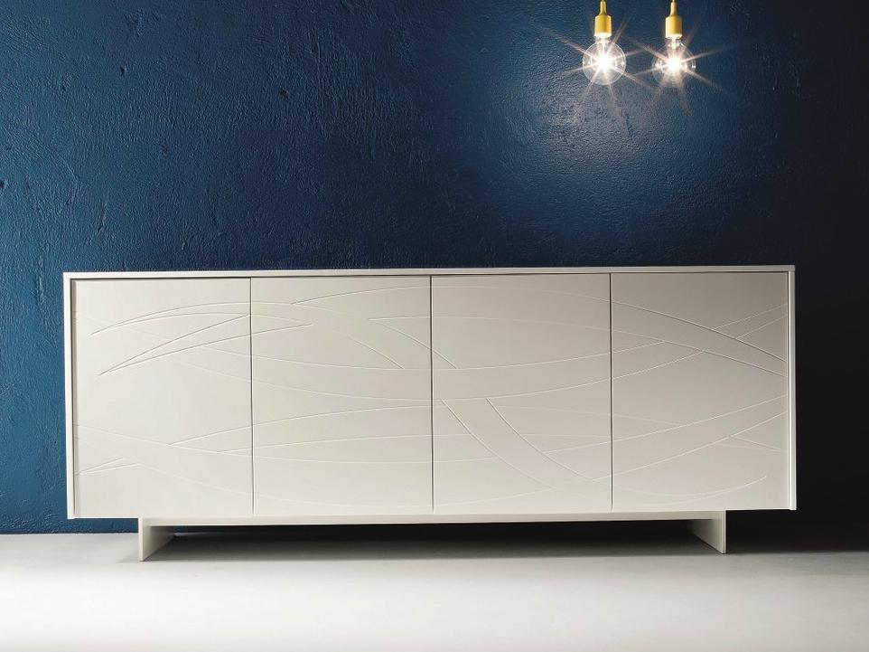 Tavoli rotondi per camera da letto - Camera da letto moderna bianca laccata ...