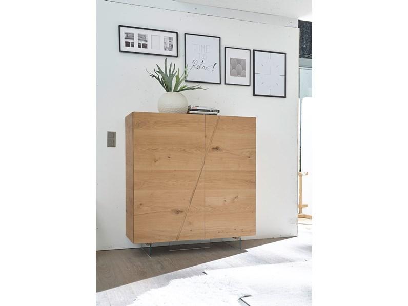 Credenza Moderna In Legno Massello : Credenza moderna in legno massello rovere scontata