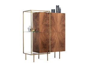 Madia Mogg in legno Zoom in Offerta Outlet