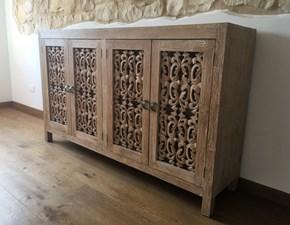 Madia Orientale Artigianale in legno a prezzo scontato