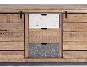 Madia Outlet etnico in legno a prezzo scontato