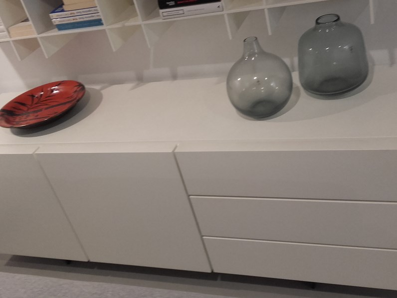 Madia Poliform in laccato opaco Pandora in Offerta Outlet