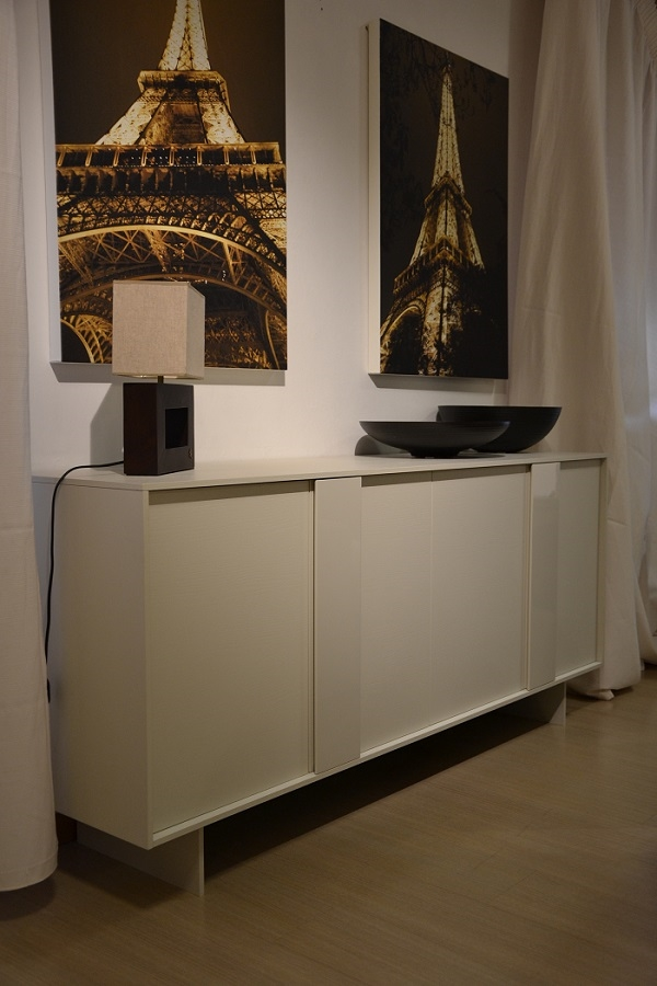 Sangiacomo soggiorno cellini legno madie moderno for San giacomo arredamenti prezzi