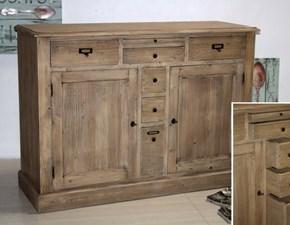 madia legno naturale
