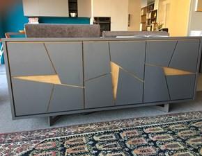 Credenza Moderna Outlet : Cubric riflessi madia moderna in legno e alluminio mobili