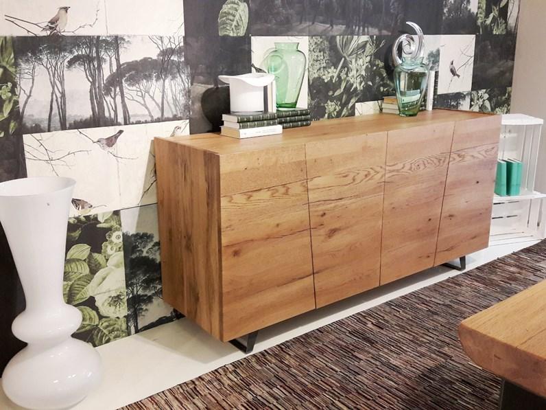 Credenza Contemporanea : Madia unika credenza ante il legno stile industriale