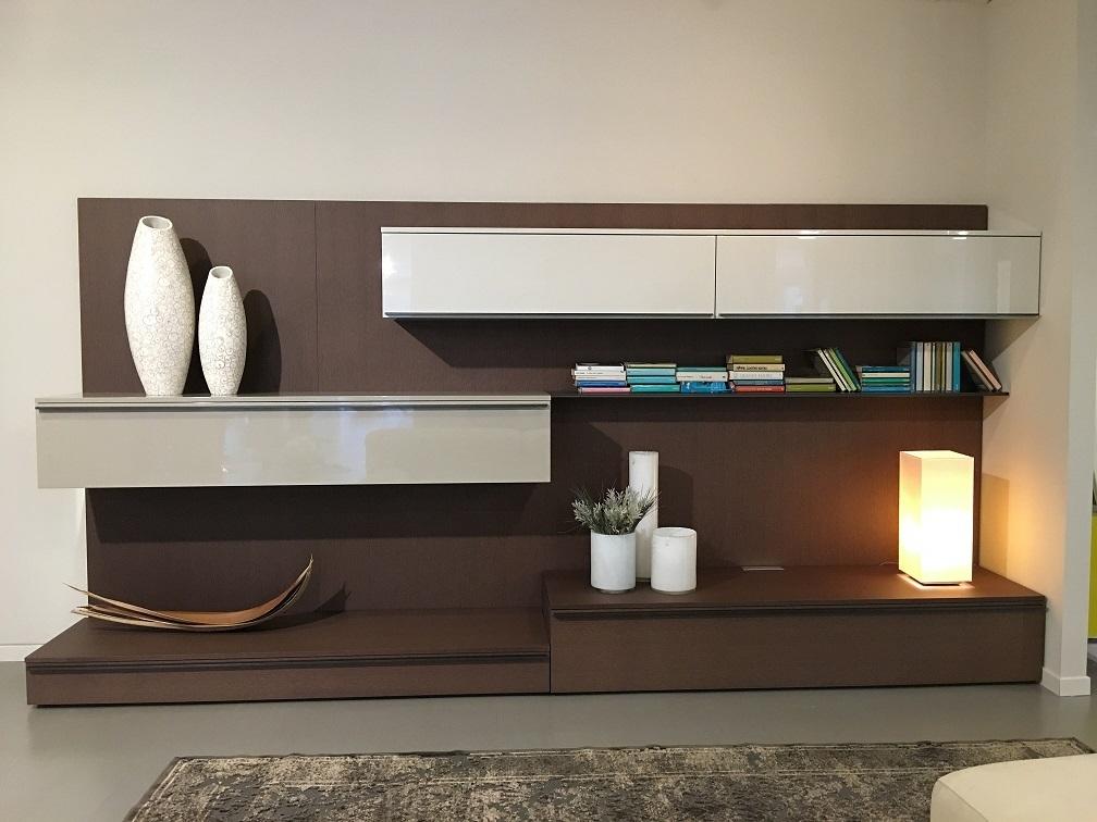 misuraemme soggiorno tao day legno pareti attrezzate moderno ... - Parete Soggiorno Attrezzata Offerte