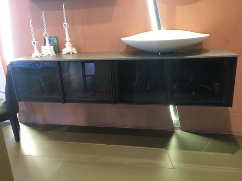 Mobile componibile bespoke design di antonio lupi ante in vetro offerta outlet - Antonio lupi bagni outlet ...