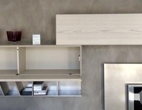 Mobile componibile Cenedese in legno Scrinium - coppia pensili a prezzo scontato