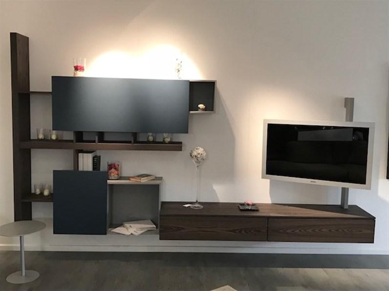 Mobile componibile in legno stile design side system fimar for Fimar arredamenti