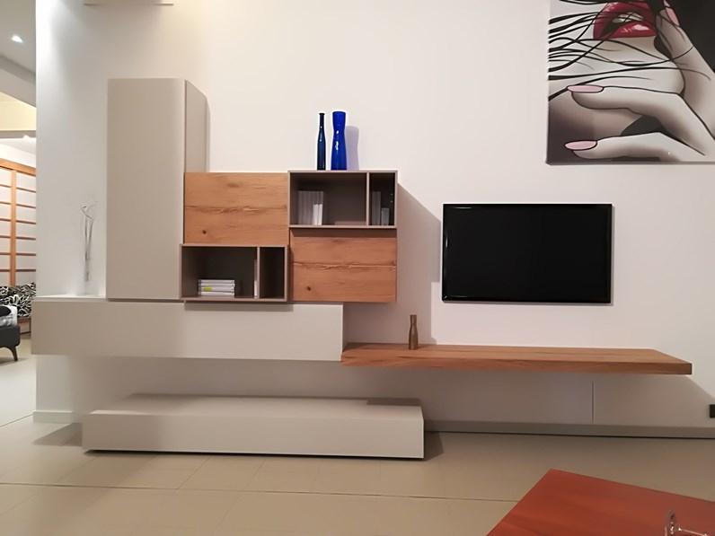 Mobile componibile in legno stile moderno live di napol for Bertocchi arredamenti