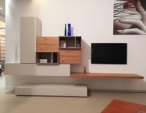 Mobile componibile in legno stile moderno Live di Napol