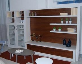 Mobile componibile in legno stile moderno Melograno Le fablier
