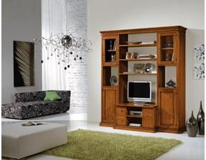 Mobile componibile in stile classico Artigianale in legno Offerta Outlet